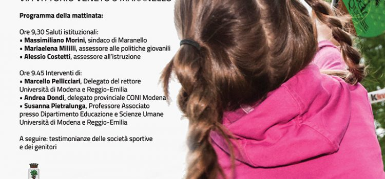 """Carta educativa """"giovani e sport"""" del Comune di Maranello"""