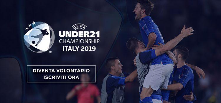 FIGC e UEFA cercano volontari per EURO UNDER 21