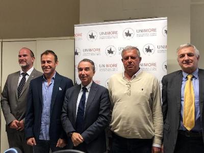 Unimore e A.S.D. Calcestruzzi Corradini Excelsior di Rubiera hanno siglato un accordo nell'ambito dell'Atletica